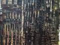 Chibam 61 x 50 cm acrylique 2008