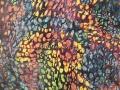 Étreinte  120 x 120 cm, acrylique 2013-