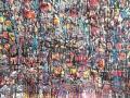Ouverture 116 x 89 cm, acrylique 2018