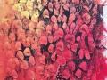 Essaim 106 x 69 cm, acrylique 2015